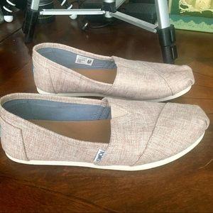 Toms Blush & Cream Tweed Style (9)